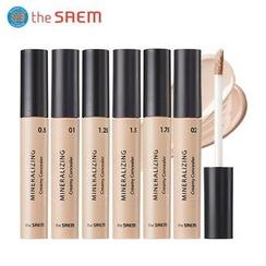 The Saem - Mineralizing Creamy Concealer SPF30 PA++ (6 Colors)