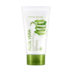 NATURE REPUBLIC - Soothing & Moisture Aloe Vera Foam Cleanser 150ml