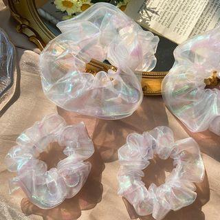 Catalunya - Holographic Mesh Scrunchie