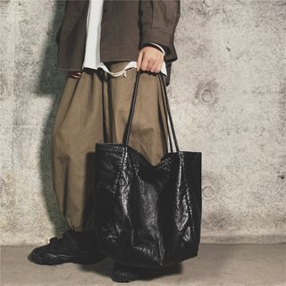 Libra - Faux Leather Tote Bag