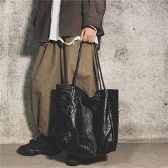 Libra - 仿皮手提袋