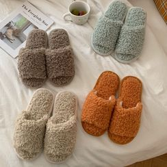Honkizz(ホンキッズ) - Plain Fleece Slippers