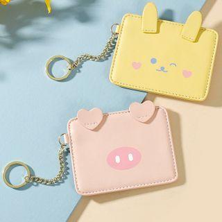 tablarosa - Cartoon Faux Leather Card Holder