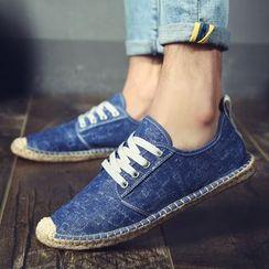 MARTUCCI - Canvas Lace-Up Shoes
