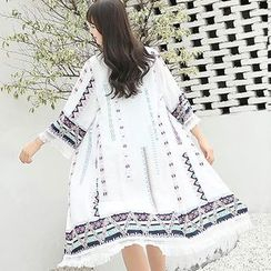 Kotilo - Patterned Beach Cover Up
