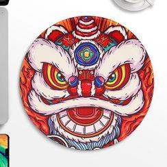 BUBM - 醒狮印花滑鼠垫