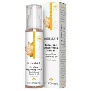 Derma E - Even Tone Brightening Serum with Vitamin B3 & C, 2oz