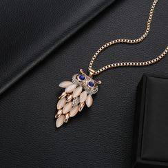 B.muse - Owl Pendant Necklace