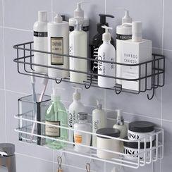 Popcorn(ポップコーン) - Iron Adhesive Organizer / Towel Holder / Basin Holder / Hair Dryer Holder / Toothbrush Organizer / Set