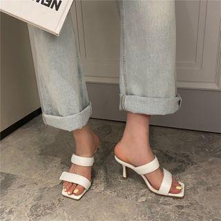 Gasno - High Heel Slide Sandals