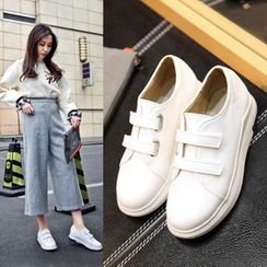 Shoes Galore - Adhesive Strap Sneakers