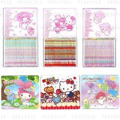Sanrio - 24 Colours Pencil - 3 Types