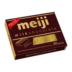 meiji - Milk Chocolate (Pack of 26)