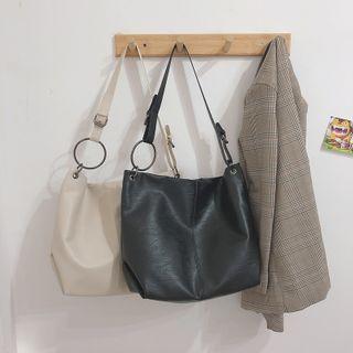 Katleon - Faux Leather Tote Bag