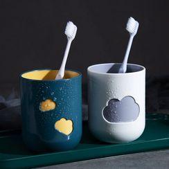 Livesmart - Cloud Plastic Toothbrush Cup