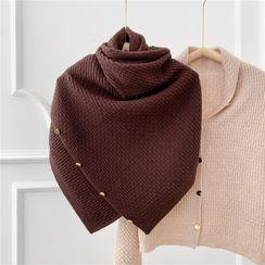 SOCOOL - Plain Knit Capelet