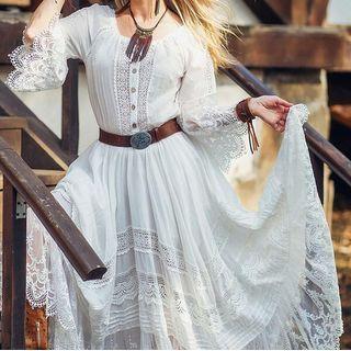 Yikkus - See-Through Lace Dress