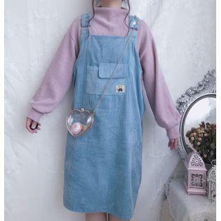 Sisyphi - 纯色套衫 / 灯芯绒背带连衣裙