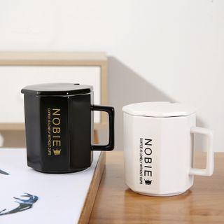 四季美 - 字母陶瓷杯