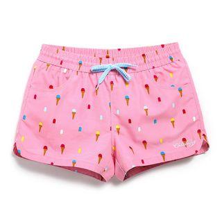 Shorell - 冰淇淋印花沙灘短褲