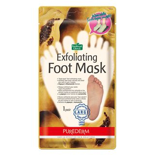 PUREDERM - Exfoliating Foot Mask (Large) 1pair