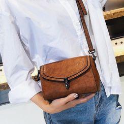 Santaka - Faux Leather Crossbody Bag