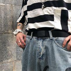 Blackcola(ブラックコーラ) - Plain Snap Buckle Belt