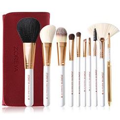 ZOREYA - Set of 10: Makeup Brushes
