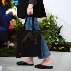candycross - 帆布手提袋DIY刺繡材料包