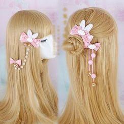 Elfis - 蝴蝶結髮夾 / 髮圈