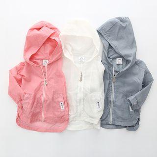 Seashells Kids - Kids Hooded Light Jacket