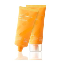 SKIN&LAB - Fre-C Sun Lotion, lotion solaire vitamine C SPF50+ 50 ml