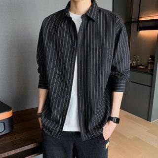 Aamon - 條紋襯衫