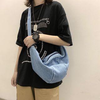 EAVALURE - Denim Crossbody Bag