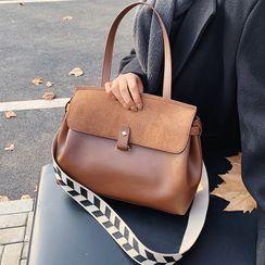 Bezac - Faux Leather Crossbody Bag