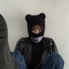 4.4 STUDIO - Bear Ear Knit Beanie