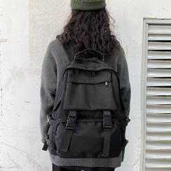 Churori - Buckled Nylon Backpack