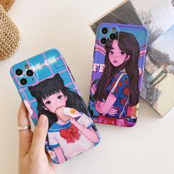 Huella - Printed Phone Case For iPhone SE / 7 / 7 Plus / 8 / 8 Plus / X / XS / XR / XS Max / 11 / 11 Pro