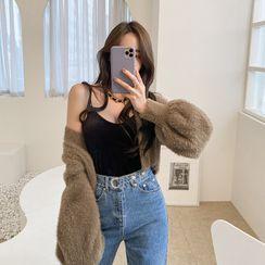 DABAGIRL - Glam Velvet Camisole Top