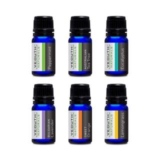 YEOUTH - Pure Essential Oil For Aromatherapy Set 6 pcs