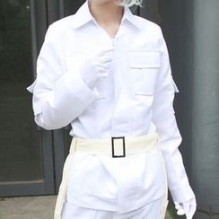Mikasa - Cells at Work - White Blood Cell Cosplay Costume