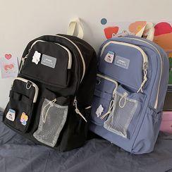 BANGGIRL - Nylon Mesh Pouch Backpack