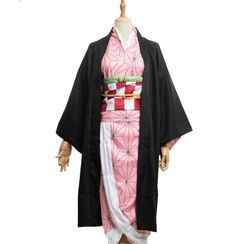 Macoss - Demon Slayer: Kimetsu no Yaiba Nezuko Kamado Cosplay Costume