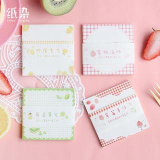 Hegma - Fruit Print Sticky Note
