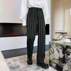 Bjorn - Striped Straight Leg Pants