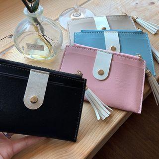 UUZONE(ユーユーゾーン) - Tassel-Detail Card Wallet