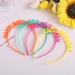 Chimi Chimi - 塑膠生日字母髮箍