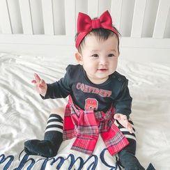 MOM Kiss - Baby Long-Sleeve T-Shirt