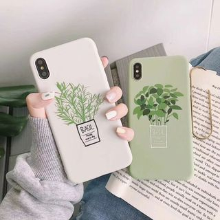 Xianto - Plant Print Mobile Case - iPhone XS Max / XS / XR / X / 8 / 8 Plus / 7 / 7 Plus / 6S / 6S Plus