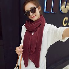 UACY - Pleated Cotton Scarf